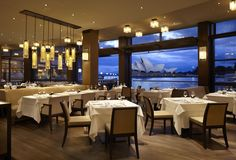 Have a very original dinner at the Park Hyatt, with  spectacular views over the iconic Opera House - Sydney, Australia
