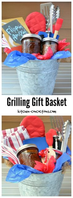 Sweet and Smoky BBQ Dry Rub and Father's Day Grilling Gift Basket - My homemade BBQ sauce and dry rub recipe is the perfect addition to this grilling themed gift basket! Check out the simple tutorial! {ad} #CelebrateAllSummer