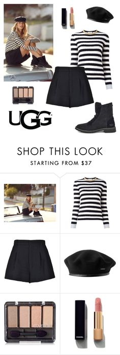 """""""Get the Look - UGG Edition (The New Classics With UGG: Contest Entry)"""" by lourdes-gio ❤ liked on Polyvore featuring UGG, Gucci, RED Valentino, Chanel and ugg"""