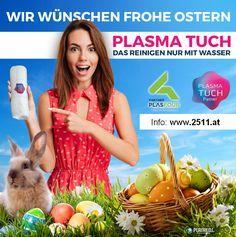 HAPPY EASTERN with the innovation PLASMA FABRIC from Austria :)  FROHE OSTERN mit der Erfindung PLASMA TUCH aus Österreich :)