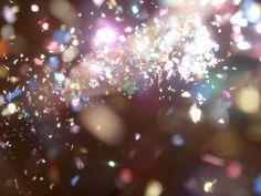 confetti - great photography idea