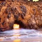 Portal to the Sun - Sea Arch at Pfeiffer Beach, Big Sur, CA, Must see once in my life! Michelle at ObjectsOfBeauty.com