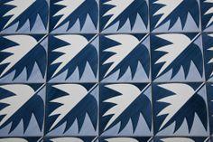 Gio Ponti - tiles from the Parco dei Principe Hotel