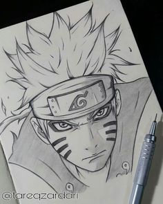 Likes, 45 Comments - Anime_art Naruto Sketch Drawing, Kakashi Drawing, Naruto Drawings, Anime Drawings Sketches, Naruto Art, Anime Sketch, Uzumaki Boruto, Naruto Shippuden Sasuke, Naruto And Sasuke