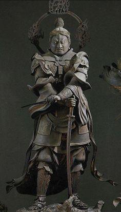 仏像紹介BOT(@butsuzobot)さん | Twitter Asian Sculptures, Sculptures Céramiques, Sculpture Art, Buddha Art, Statue, Japan Art, Kamakura, Kyoto, Horse