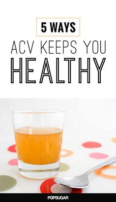 5 reasons to go out and buy a bottle of apple cider vinegar. Did you know it can help with weight loss?