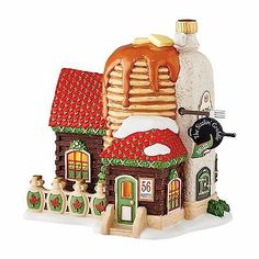 """Dept 56 North Pole Village """"NORTH POLE SIZZLIN' GRIDDLE"""" New 2016 FREE SHIPPING"""