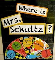 School Counselor Blog: Where's the School Counselor? Wheel to put on my office door. Totally doing this.