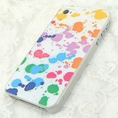 Apple iPhone 4 4S 5 Case Cover Colorful Stained Camouflage Painted Watercolor | eBay