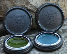 Rollei Original Green & Blue Filters in their original cases