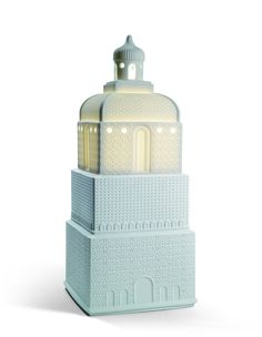 Lladro - Metropolis Lamp, High