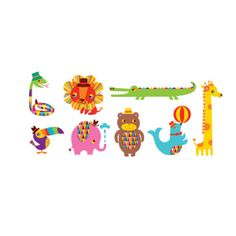 Menagerie set Tattly designy temporary tattoos #safe #nontoxic #vegetableink #kids #NYC #transfers #partybags #birthday #present #gift #boys #girls #party #favors