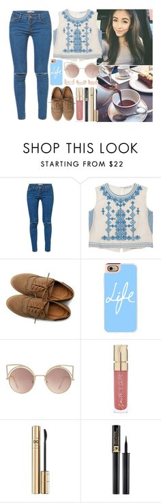"""""""Cool"""" by iarsotelo ❤ liked on Polyvore featuring Kori, Chelsea Flower, Ollio, Casetify, MANGO, Smith & Cult, D&G, Lancôme and New Look"""