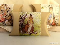 EcoScrapbook: Easter Craft Tutorial: Toilet Paper Roll Gift Boxes