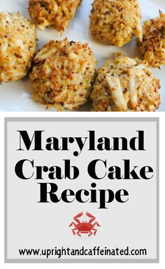 Are you looking for an authentic Maryland crab cake recipe? Check this recipe out for REAL Maryland crab cakes- they are the best! Crab Balls Recipe, Crab Cakes Recipe Best, Homemade Crab Cakes, Maryland Crab Soup, Maryland Style Crab Cakes, Crab Cake Recipes, Fried Crabs Recipe, Maryland Recipe, Gourmet
