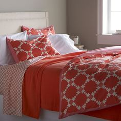 Genevieve Duvet Covers and Pillow Shams | LFF Designs | www.facebook.com/LFFdesigns