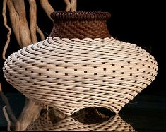 Woven Basket - Small Cat Head Shape, Hand made basket, Rattan, Reed, Wicker basket, Baskets