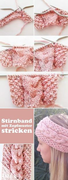 Knit Hat - Free Knitting Instructions for Beginners Knitted hats, Knitting for beginners, Crochet hats Free Instructions - Knit Headband - Knit Cable Knit - Talu.de Knitting , lace processing is essentially the most beautif. Cable Knitting Patterns, Free Knitting, Free Crochet, Knit Crochet, Crochet Hats, Knitting Machine, Knitting Socks, Simple Knitting, Weave Styles