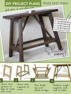 diy end tables                                                                                                                                                                                 More