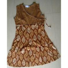 Exclusive Jaipuri Block print kurti in brown colour