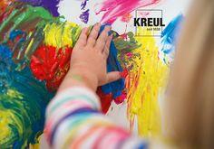 Pure Entdeckerfreude. Die #Fingerfarbe von KREUL für Kinder ab 2+