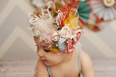 vintage hairbows | Vintage Hairbows & Headbands for Baby Girls | precious