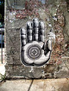 Hawaian Street Artist Cryptik