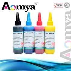 500ML High Quality bulk ink pigment ink Suit for General Canon Printers 2BK CY MG YL 100ml/pcs