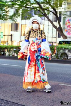 Japanese Fashion Designer in Colorful Avantgarde Handmade Street Style & ESQAPE Sping Shoes in Harajuku – Tokyo Fashion Japanese Fashion Designers, Tokyo Fashion, Harajuku, Street Style, Handmade, Colorful, Shoes, Hand Made, Zapatos