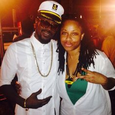 Global Dancehall / Reggae Artist Beenie Man & Music Media Management @ International Reggae Day - Kingston Jamaica July 2015 ... #medianet55