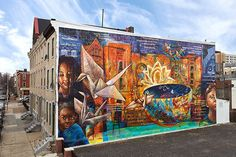 Top 10 Philadelphia street murals - in pictures