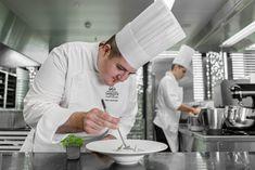 Chef Cédric Bourassin EHL Anne Sophie Pic, Chef Jackets, Cookout Restaurant, Bassinet