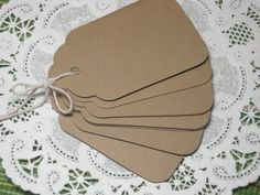 Do it yourself wedding tags for a wish tree or for thanks you to place on the party favor.  Use with twine or ribbon.