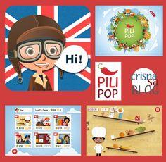 Pili Pop, un juego para que los niños hablen bien en inglés | Crisnasa Blog. Niños y tecnología