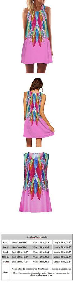 CUCUHAM Vintage Boho Women Loose Summer Sleeveless 3D Floral Print Bohe Tank Mini Dress You Look Beautiful, 40th Birthday, Daily Wear, Body Types, Fashion Prints, Floral Prints, Boho, Sexy, Casual