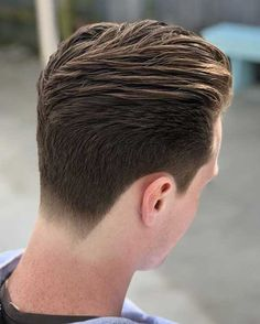 Men Pompadour Hairstyle Pompadour Fade, Mens Hairstyles Pompadour, Cool Hairstyles For Men, Haircuts For Men, Hairstyle Men, Wavy Hairstyles, Wedding Hairstyles, Hairstyle Images, Hairstyle Ideas