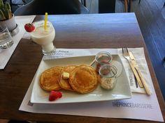 Raspberry Pancakes!