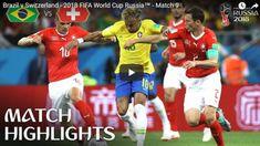 Brazil vs Switzerland Highlights 17 June 2018 FIFA World Cup Russia 2018 Albert Camus, World Cup Match, World Cup Russia 2018, Match Highlights, Uefa Champions, Free Kick, Popular Videos, Football, Russia