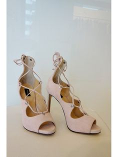 Pinko sandali in pelle scamosciata rosa