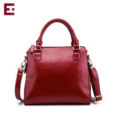 2016 High Quality women Leather Bag Top Handbag Women Leather ...