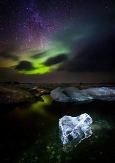 500px / Heart of Ice - Jokulsarlon - Iceland - by Derek Kind