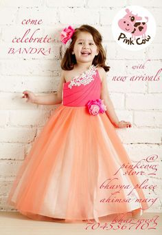 7720c89e2 Latest Kids Party Wear Frocks