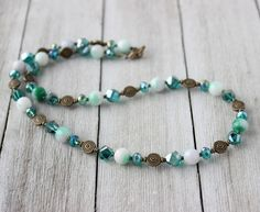 Womens Winter Necklace by InspiredTheory on Etsy