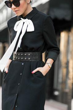 Summer Classics :: Linen vest & Asymmetric dress :: Outfit :: Dress :: ASOS Vest :: Theory Shoes :: Stuart Weitzman Bag :: Valentino Accessories :: Chloe belt, cuff bracelet Published: August 3, 2015