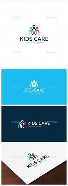 Kids Care Logo Template Vector EPS, AI. Download here: http://graphicriver.net/item/kids-care-logo/14835793?ref=ksioks