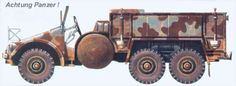 Kfz.70 – standard Krupp Protze L 2 H 143 used as a personel carrier.