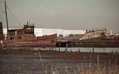 Tugboat Graveyard, Staten Island, New York, abandoned places