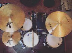 PICTURE SET #drums #zildjian #instabul #rides #evans