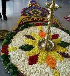 Beautiful Rangoli Design!