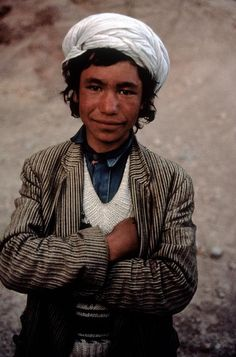 Old Face of a Young Boy, Herat, Afghanistan | Steve McCurry